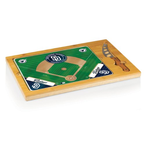 PICNIC TIME MLB San Diego Padres Icon Cheese Set (3-Piece) (San Diego Padres 3 Piece)
