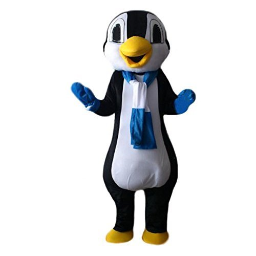 penguin Seals Polar bear Walking Cartoon Characte Christmas Halloween ( Size : Large(180-190)cm ) (Penguin Mascot Costume)