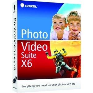 Corel Corporation - Corel Photo Video Suite V.X6 - Complete Product - 1 User - Video Editing - Standard Mini Box Retail - Pc - English