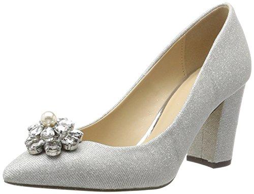 Mujer Tacón Plateado Menbur Zapatos Hydrae De silber Para qPOWBX6w