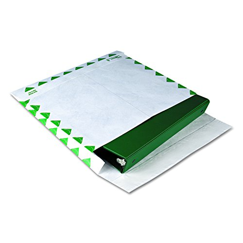 Survivor R4440 Tyvek Booklet Expansion Mailer, 1st Class, 10 x 13 x 2, White, 18lb (Case of 100) by Quality Park