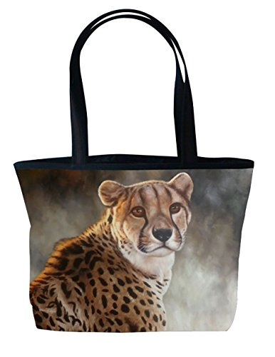 Purrfect Tote With Cheetah
