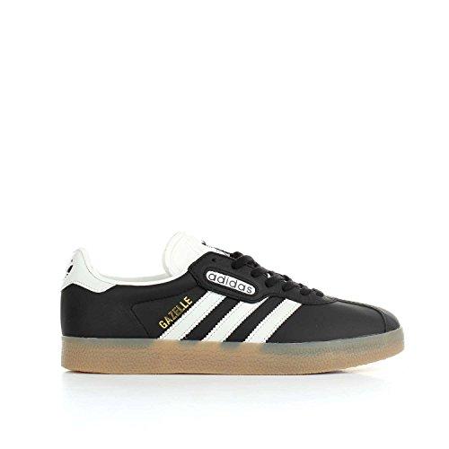 Adidas Herren Gazelle Super-chaussure Noyau Noir-blanc Cru-gomme (bb5244)