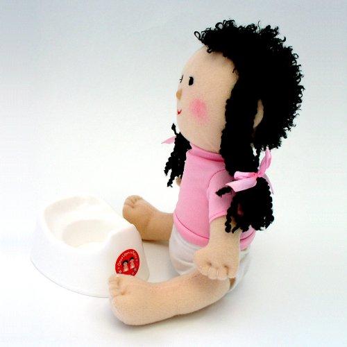 Amazon.com : Once Upon A Potty Plush Doll Set With Mini-Potty - Girl : Toilet Training Potties : Baby