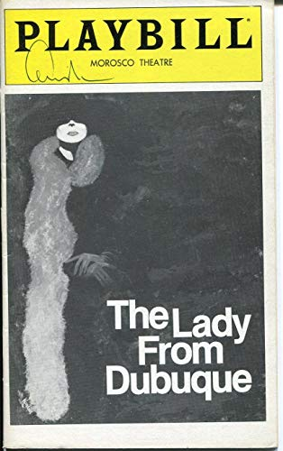 Edward Albee The Lady From Dubuque Signed Autograph Opening Night Playbill (Lady From Dubuque)