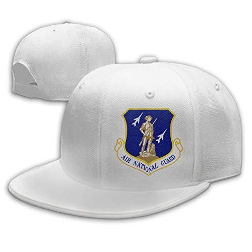United States Air Force National Guard Baseball Cap Dad Hat Unisex Classic Sports Hat Peaked Cap White