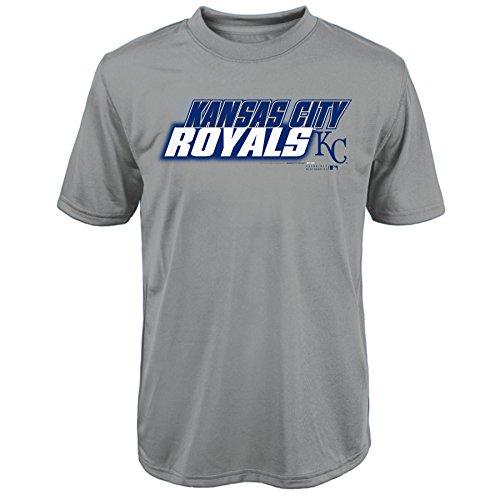 "MLB  Kansas City Royals Youth Boys 8-20 ""Kinetic Team & City"" Tee-M (10-12) – DiZiSports Store"