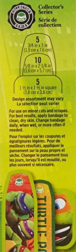 Band-Aid Adhesive Bandages-Teenage Mutant Ninja Turtles-20 ct, Assorted Sizes by Band-Aid (Image #2)