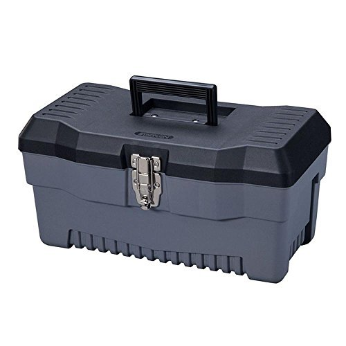 Stack-On PB-16 16-Inch Multi-Purpose Tool Box, Black/Gray