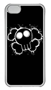 Apple iPhone 5C Case - Cool Death Skulls Funny Lovely Best Cool Customize iPhone 5C Cover