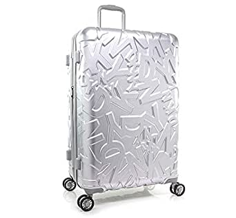 "DKNY - Chaos 31"" Large Hardside Suitcase - Pewter"