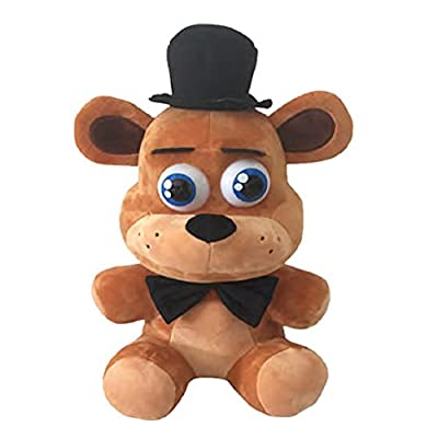 "Friday Night at Freddy's Freddy Plush 12"" Push: Toys & Games"