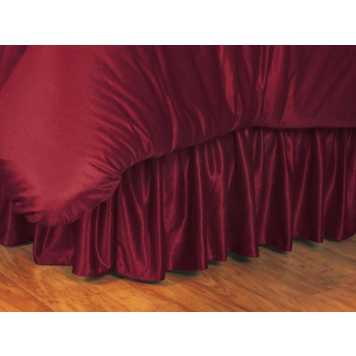 picture of University of South Carolina Gamecocks Bed Skirt RedFull