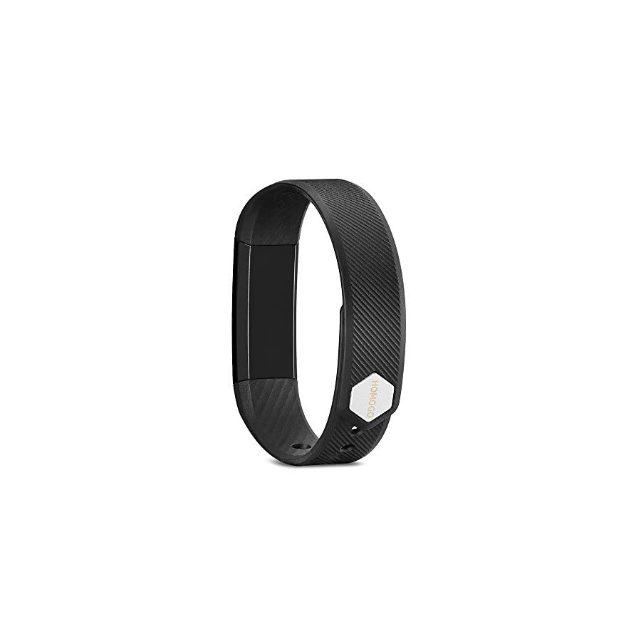 Fitness Tracker, Homogo Smart Band Activity Health Tracker with Slim Touch Screen for Step Distance Calories track, Sleep monitor, pedometer and more ¡