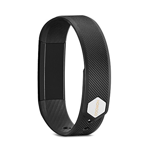 Fitness Tracker, Homogo Smart Band Activity Health Tracker with Slim Touch Screen for Step Distance Calories track, Sleep monitor, pedometer and more ¡­