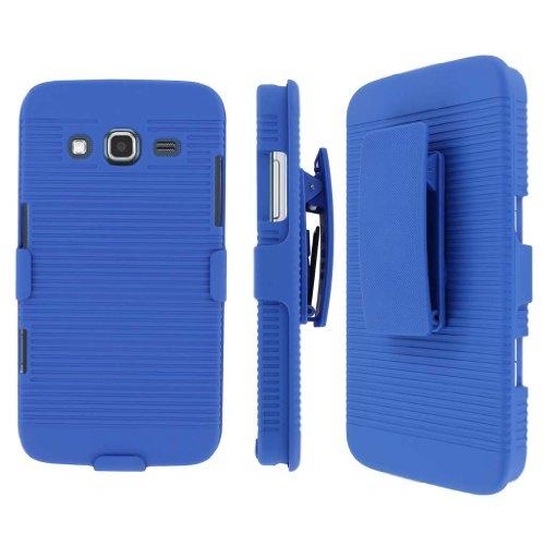MPERO Collection 3-in-1 Tough Kickstand Case for Samsung Ativ S Neo – Blue