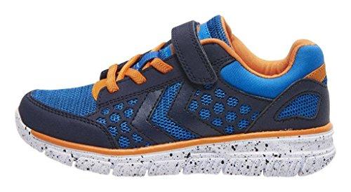 Hummel - Zapatillas de Material Sintético para niño Azul azul