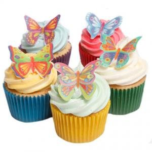 12 Stunning Butterflies- Beautiful Edible Cake Decorations ...
