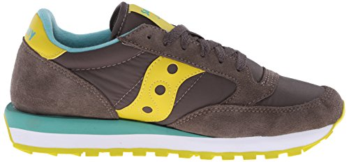low Lime mixte adulte sneaker suède Saucony Jazz Original Charcoal wpqg7xvY