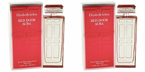 Elizabeth Arden Red Door Eau De Toilette Spray - Elizǻbeth Arděn Red Door Aura Perfúme For Women 3.4 oz Eau De Toilette Spray + a FREE 6.7 oz Hand & Body Cream (PACKAGE OF 2)