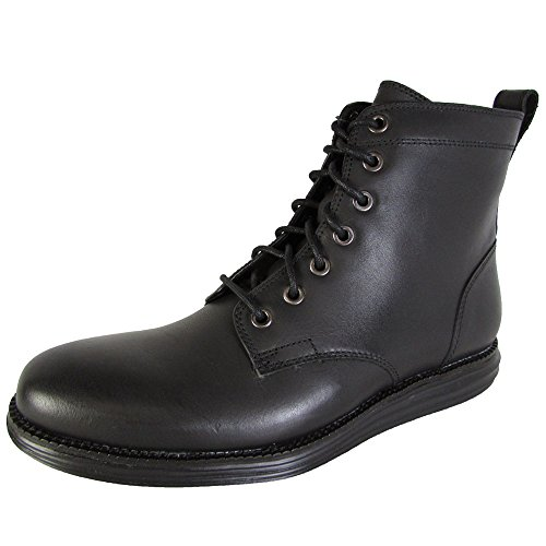 Cole Haan Mens OriginalGrand Waterproof Lace Boot Shoes, Black, US 10.5 (Cole Haan Lace Boot compare prices)