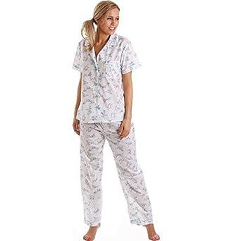 Lady Olga Vetements De Nuit Pour Femmes Pyjama Femmes Court Manches