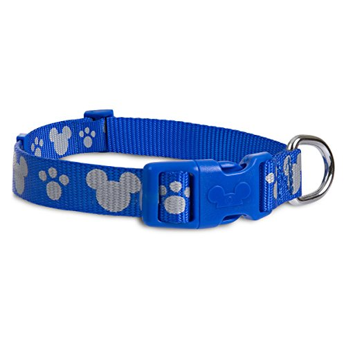 Disney Parks – Tails – Mickey Mouse Reflective Dog Collar – Blue – Large