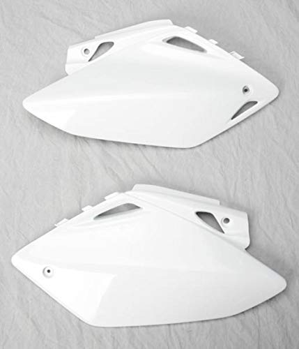 - UFO HO03656-041 Replacement Plastic (FOR HONDA PANEL SIDE CRF450 05 WHITE)