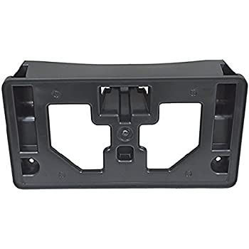 apdty 133702 license plate bracket plastic. Black Bedroom Furniture Sets. Home Design Ideas