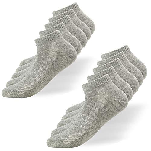 Falechay Sneaker Socken Herren Damen Sportsocken 10Paar Halbsocken