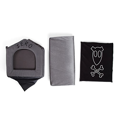 Disney Nightmare Before Christmas Zero Portable Pet House Dog Bed/Cat Bed with Detachable Top, Embroidery, Machine Washable, Dirt/Water Resistant Bottom (Available in Two Sizes) by Disney (Image #7)