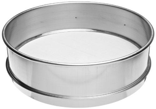 Advantech Stainless Steel Test Sieves, 8 Diameter, #230 Mesh, Full Height