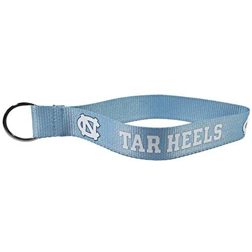 NCAA North Carolina Tar Heels Lanyard Key Chain, -
