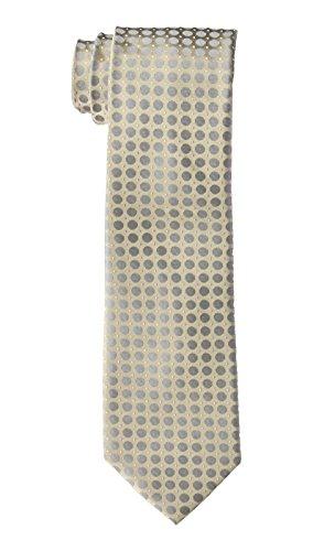 Calvin Klein Men's Power Dot Tie, Taupe, One Size