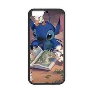 iphone6s 4.7 inch Phone Case Black Lilo and Stitch 2 Stich Has a Glitch UYUI6820297