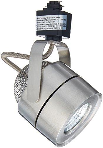 Lithonia Lighting LTIHMSBK BN M4 Mesh Back 1 Head Brushed Nickel Integrated LED Track Light, 8.2 W, White