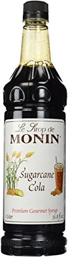Monin Sugarcane Cola Syrup, 1 liter PET Bottle