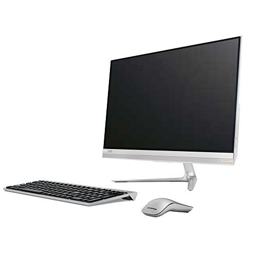 "2017 Lenovo IdeaCentre 510S 23"" Full HD IPS Touchscreen All-in-One Desktop PC, Intel Pentium Dual-Core Processor, 8GB DDR4, 1TB HDD, External DVD, WIFI, HDMI, Wireless Keyboard + Mouse, Windows 10"
