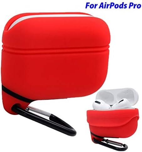 iCoolmate Funda AirPods Pro Case Impermeable Actualizado Anti-Perdido Libre de Polvo Silicio Cubierta Protectora (Naranja): Amazon.es: Electrónica