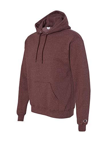 (Champion Adult Pullover Hooded Sweatshirt, Maroon,)