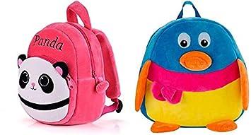 Minitrees Premium Quality Best Panda  Pengiun Combo Kids School Bag ... 4fb3bdd221dee
