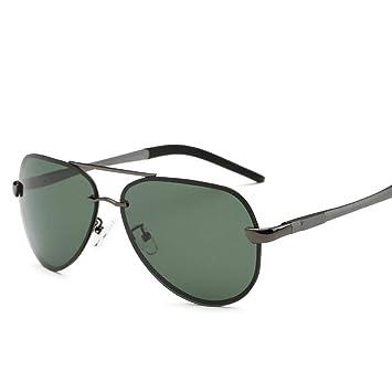 ZhongYi Gafas de Sol polarizadas para Hombres Gafas de Sol clásicas Grandes