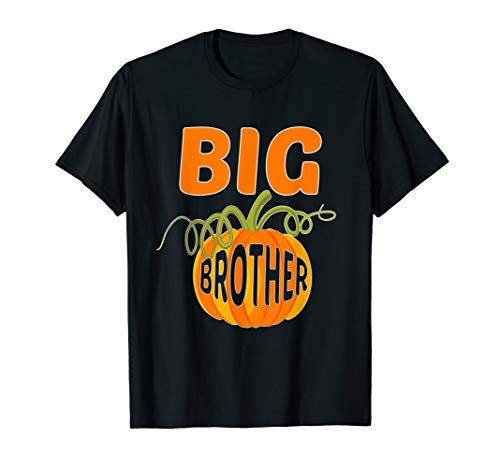 Blues Brothers Halloween (CUTE BIG BROTHER PUMPKIN T-SHIRT Halloween Costume)