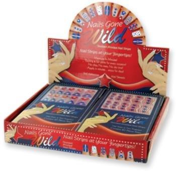 Ddi USA Nails Gone Wild! Patriotic Nail Strips