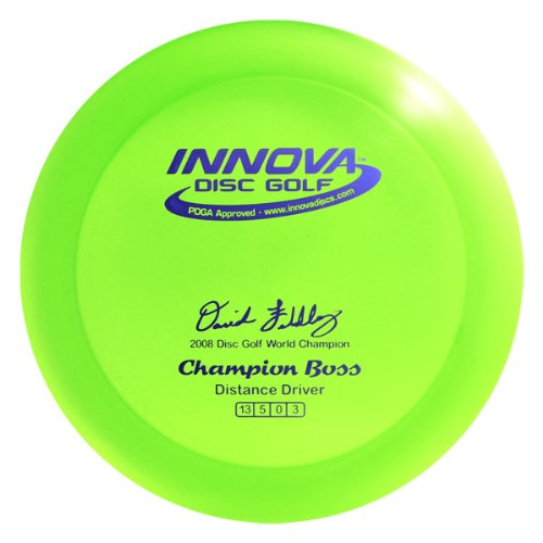 (Innova Disc Golf I-Dye Blizzard Champion Material Boss Golf Disc, 140-150gm (Colors may vary))