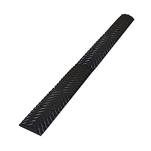 (Speed Nubs Safety Bump Rumble Strips Kit: 2 Black Sections - Total Length: 39.5