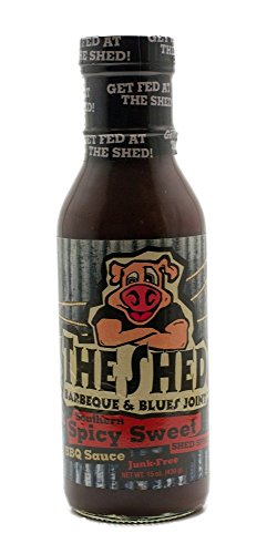 The Shed Southern Sweet Spicy Barbeque Sauce, 15 Ounce - 6 per case.