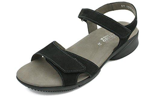 mujer negro Zapatos tacón de MephistoFrancesca wxqBTR0