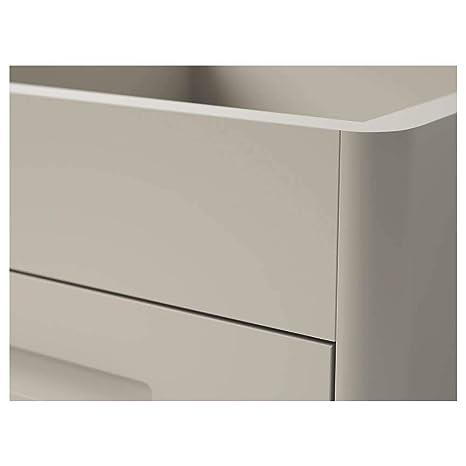 IKEA ASIA IDASEN - Cajonera con Ruedas, Color Beige: Amazon ...