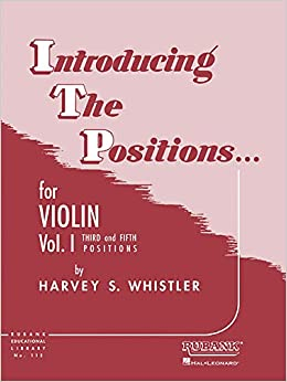 amazon introducing the positions for violin third and fifth